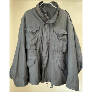 アンユーズド(UNUSED)の1 UNUSED military jacket black(ミリタリージャケット)
