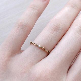 ジュピターゴールドレーベル(jupiter GOLD LABEL)のjupiter k10yg リング(リング(指輪))