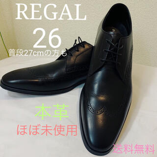 REGAL - ほぼ未使用 レア REGAL(リーガル) 本革革靴ビジネスシューズドレスシューズ