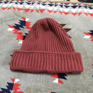 アングリッド(Ungrid)のアングリット☆ニット帽   ピンク(ニット帽/ビーニー)