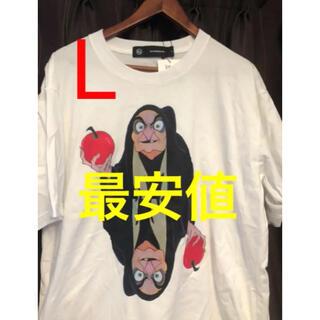 ジーユー(GU)のGU×undercoverビッググラフィックTシャツ魔女 Lサイズ(Tシャツ/カットソー(半袖/袖なし))