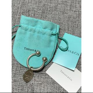 ティファニー(Tiffany & Co.)のリターントゥ ラウンドタグキーリング(キーホルダー)