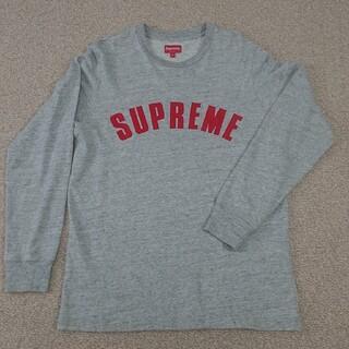 Supreme - supreme 16ss arc logo l/s top gray M