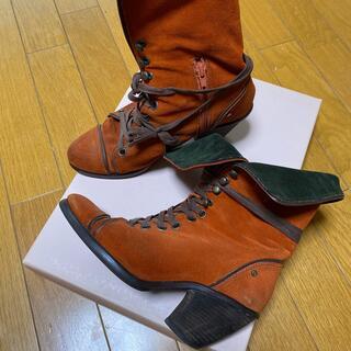 オゥバニスター(AU BANNISTER)のオウバニスターのブーツ(ブーツ)