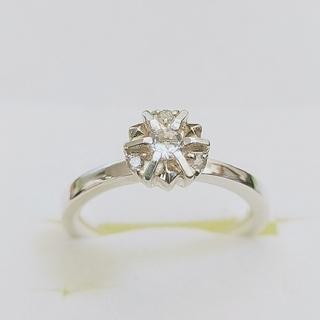 アガット(agete)のアガット agete ダイヤモンドシルバーリング 9号(リング(指輪))