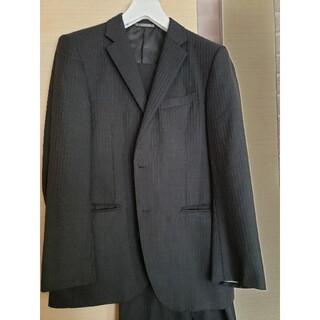 青山 - 中古美品 青山スーツ二点セット グレー