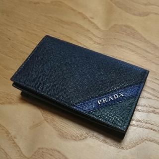 プラダ(PRADA)の【未使用・美品】PRADA 名刺入れ(名刺入れ/定期入れ)