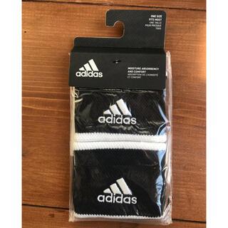 アディダス(adidas)の【新品】アディダス テニス用リストバンド 黒(その他)
