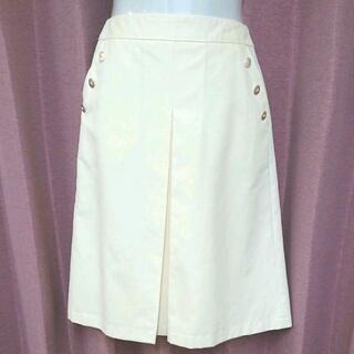 インディヴィ(INDIVI)のINDIVI 膝丈スカート サイズ36(ひざ丈スカート)