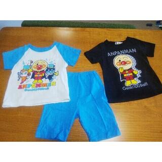 バンダイ(BANDAI)のアンパンマン 半袖パジャマ Tシャツ セット 95(パジャマ)