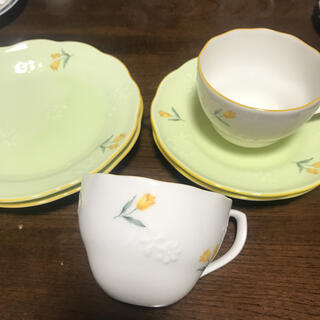レノマ(RENOMA)のレノマ カップ&ソーサー ケーキ皿 2客(食器)