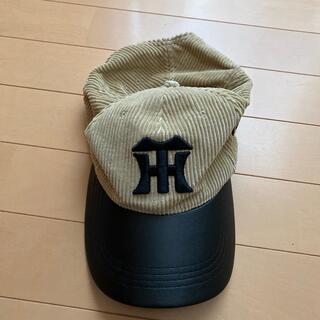 ハンシンタイガース(阪神タイガース)の阪神タイガース 帽子 子供用(応援グッズ)