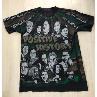 総柄T supreme シュプリーム 偉人T Tシャツ L XL(Tシャツ/カットソー(半袖/袖なし))