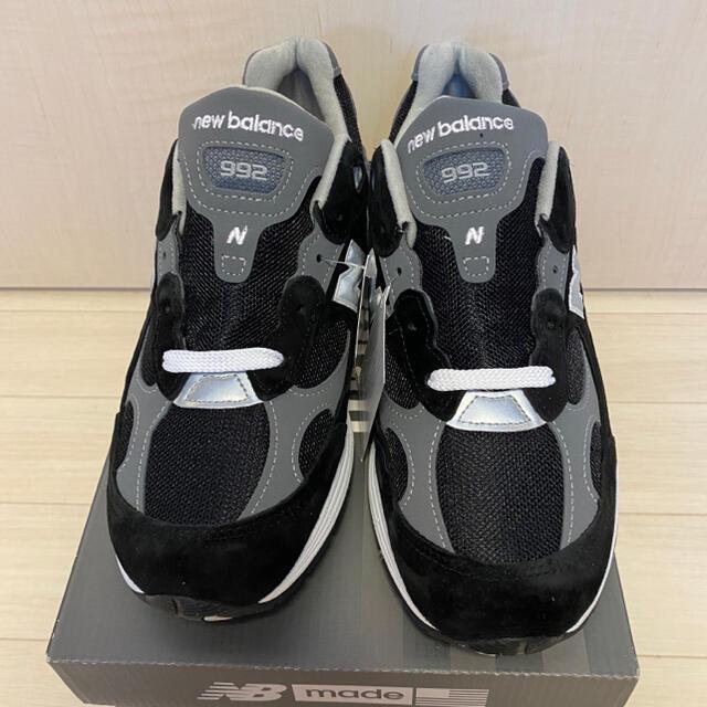 New Balance(ニューバランス)の日本未発売 27.5cm  New Balance 992 ブラック メンズの靴/シューズ(スニーカー)の商品写真