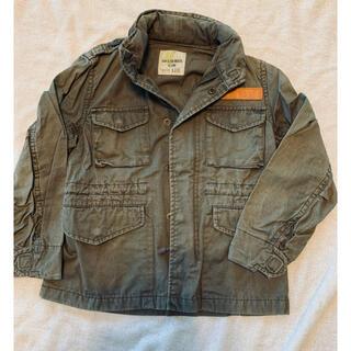 バックナンバー(BACK NUMBER)のジャケット バックナンバー ライトオン 110 カーキ(ジャケット/上着)
