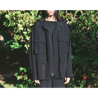 COMOLI - COMOLI 21SS コモリ ウールギャバ BDUジャケット シャツジャケット