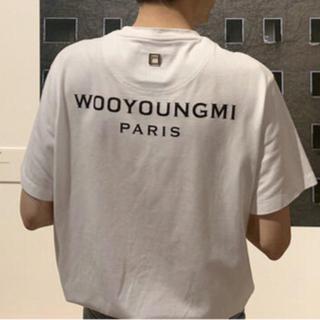 ウーヨンミ(WOO YOUNG MI)のwooyoungmi ウーヨンミ ロゴ Tシャツ(Tシャツ/カットソー(半袖/袖なし))