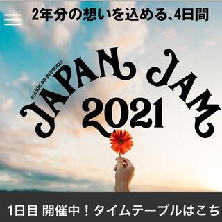 JAPAN JAM 5/3 チケット2枚(音楽フェス)