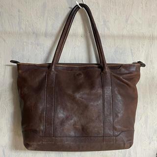 エルゴポック(HERGOPOCH)の美品 HERGOPOCH  エルゴポック ブラウン トートバッグ(ビジネスバッグ)
