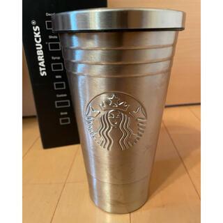 スターバックスコーヒー(Starbucks Coffee)のスターバックス タンブラー シルバー(タンブラー)