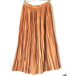 マリンフランセーズ(LA MARINE FRANCAISE)の【美品】LA MARINE FRANCAISE ランダムプリーツスカート(ロングスカート)