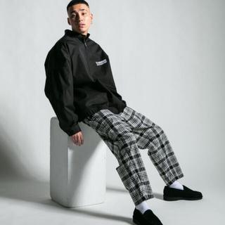 クーティー(COOTIE)のCOOTIE Print Nel Check Easy Pants パンツ(その他)