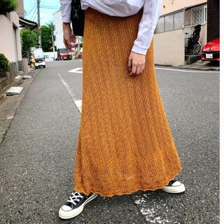 Ron Herman - ロンハーマン購入!一枚でおしゃれに見えるクロシェ編みスカート