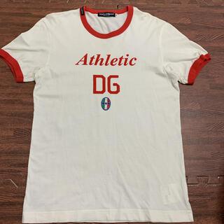 DOLCE&GABBANA - 【極美品☆GW特価】DOLCE&GABBANA   白Tシャツ