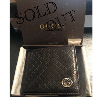Gucci - セール価格✨GUCCI二つ折り財布