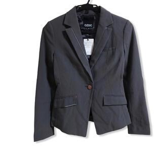 オゾック(OZOC)の新品★OZOC オゾック テーラードジャケット★スーツ グレー 38号(テーラードジャケット)