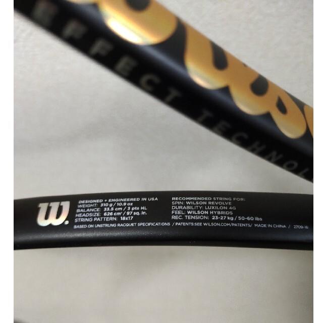 wilson(ウィルソン)の【値下げ中!】プロスタッフ97s  スポーツ/アウトドアのテニス(ラケット)の商品写真