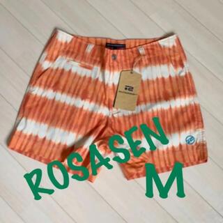 ロサーゼン(ROSASEN)の新品■15,400円【ロサーセン】M    ショートパンツ  ゴルフウェア(ウエア)