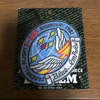 航空自衛隊 ブルーインパルス エンブレム 台紙付き F-86F(その他)