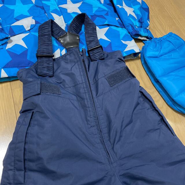 130cmスキーウェアセット スポーツ/アウトドアのスキー(ウエア)の商品写真
