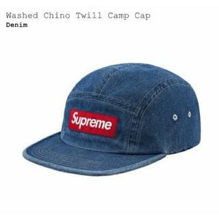 シュプリーム(Supreme)のSupreme Washed Chino Twill Camp Cap (キャップ)
