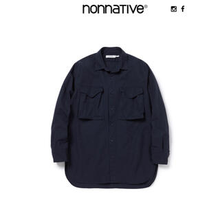 nonnative - nonnative HUNTER LONG SHIRT