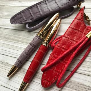 フランフラン(Francfranc)のFrancfranストラップ&ケース付き ボールペン 2本(ペン/マーカー)