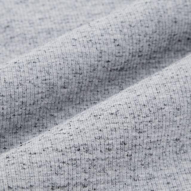 UNIQLO(ユニクロ)のウルトラストレッチリブレギンスパンツ UNIQLO ユニクロ グレー XL レディースのレッグウェア(レギンス/スパッツ)の商品写真