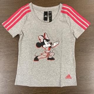アディダス(adidas)のadidas☆Tシャツ ミニー 半袖 120cm グレー(Tシャツ/カットソー)