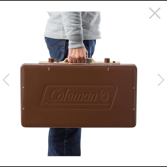 Coleman(コールマン)のコールマン ツーバーナー 希少 即完売 スポーツ/アウトドアのアウトドア(ストーブ/コンロ)の商品写真