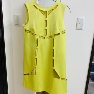 アウラアイラ(AULA AILA)のpink様専用⭐︎AURA AILA ドレス&ピンクアシンメトリードレス(ひざ丈ワンピース)