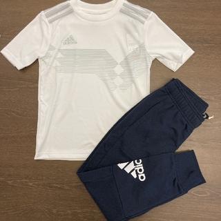 adidas - adidas☆ 男の子 セットアップ 2点セット 半袖 130cm