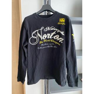 ノートン(Norton)のNorton ノートン 長袖 L size(Tシャツ/カットソー(七分/長袖))
