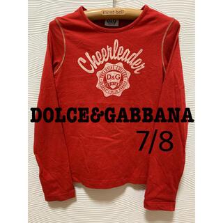 ドルチェアンドガッバーナ(DOLCE&GABBANA)の⭐️美品‼︎⭐️DOLCE&GABBANAドルガバキッズ⭐️ロンT 7/8(Tシャツ/カットソー)