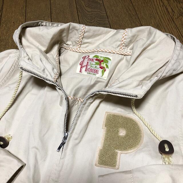 PINK HOUSE(ピンクハウス)のピンクハウス2016  ワッペン付ブルゾン レディースのジャケット/アウター(ブルゾン)の商品写真