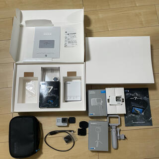 ゴープロ(GoPro)のGoPro HERO7 ブラック ダスクホワイト(コンパクトデジタルカメラ)