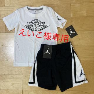 ジョーダン  ベビー キッズ Tシャツ ハーフパンツ 2点セット(Tシャツ/カットソー)