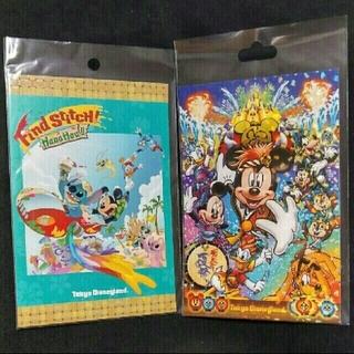 ディズニー(Disney)のDisney ポストカード Find Stitch & 夏祭り(写真/ポストカード)