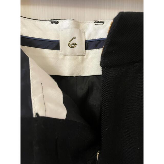 BEAUTY&YOUTH UNITED ARROWS(ビューティアンドユースユナイテッドアローズ)の6 roku kersey pants 34 黒  レディースのパンツ(カジュアルパンツ)の商品写真