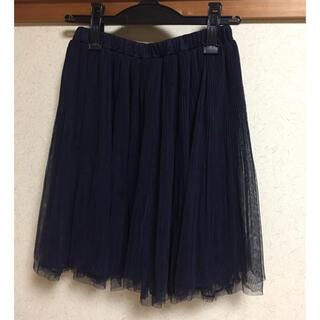 レストローズ(L'EST ROSE)のチュールスカート(ひざ丈スカート)